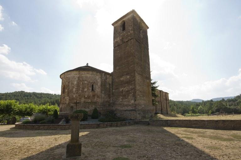 El temple actual va ser consagrat l'any 1079.